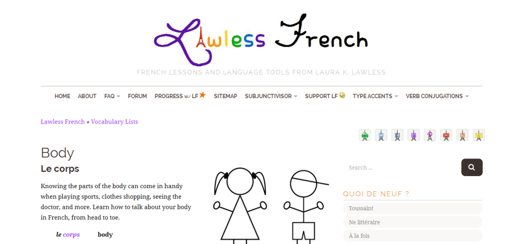 Lawless French