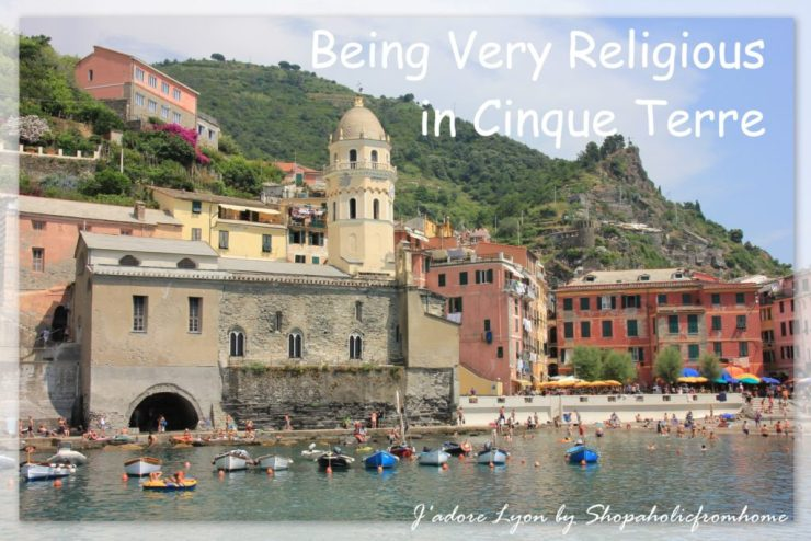 Being very religious in Cinque terre