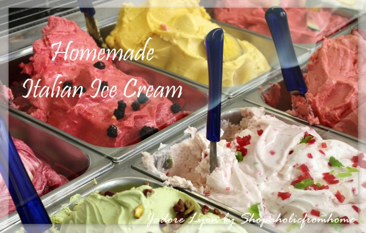 Homemade Italian Ice Cream