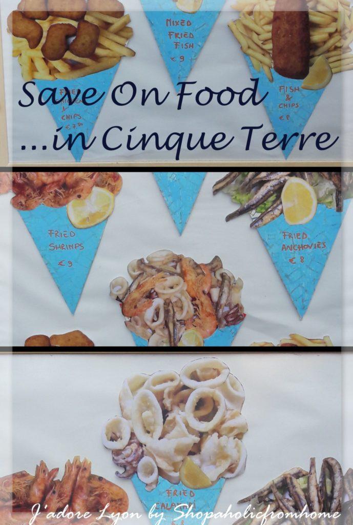 Save On Food in Cinque Terre