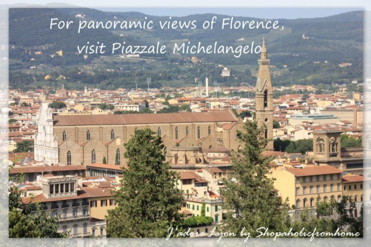 Panoramic views of Florence visit Piazzale Michelangelo