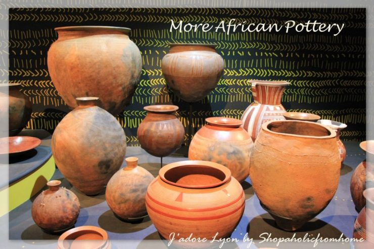 More african pottery