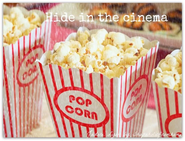 Hide in the cinema