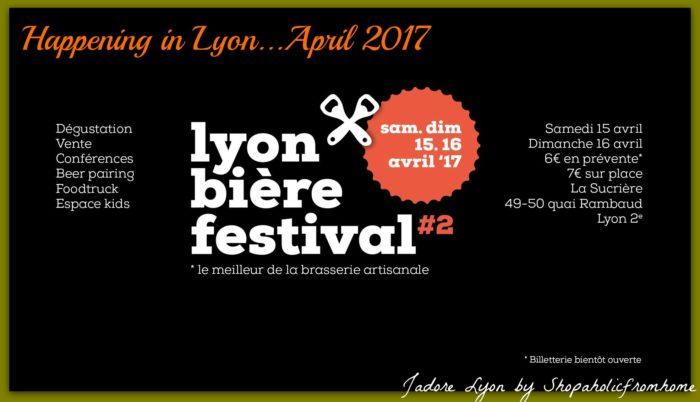 Happening In Lyon April Lyon Beer Festival