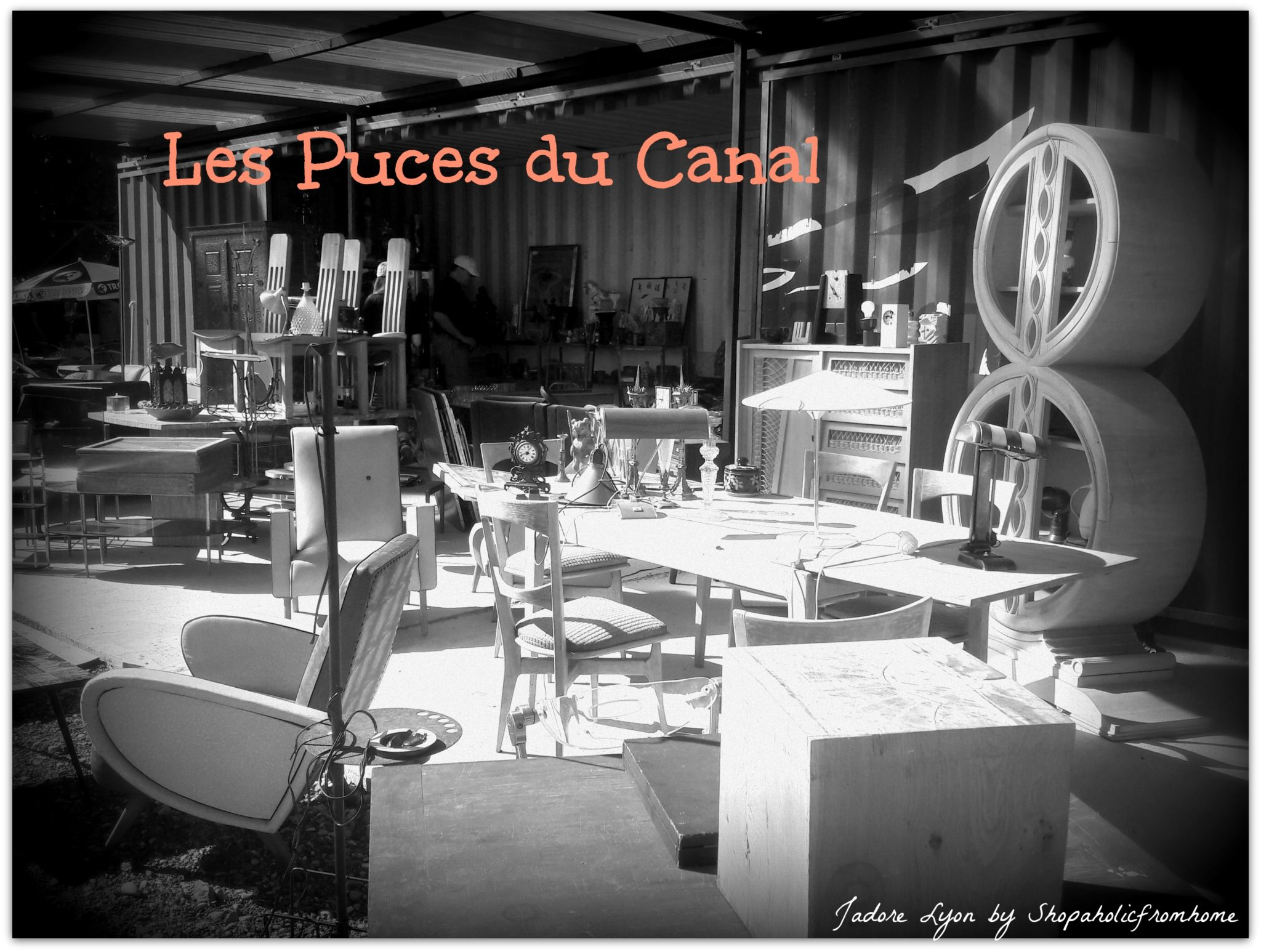 The best places to do creative and unusual shopping in lyon jadorelyon - Les puces du canal lyon ...