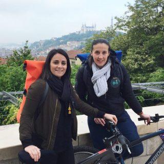 Deborah & Caroline - the founders of Baguette à Bicyclette