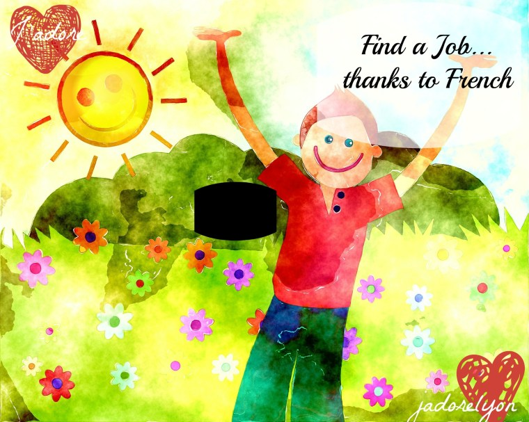 Find a job thanks to French