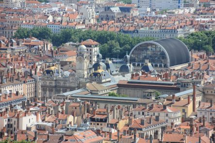 One of my favorite photo of beautiful Lyon. Do you recognise? Where is it?