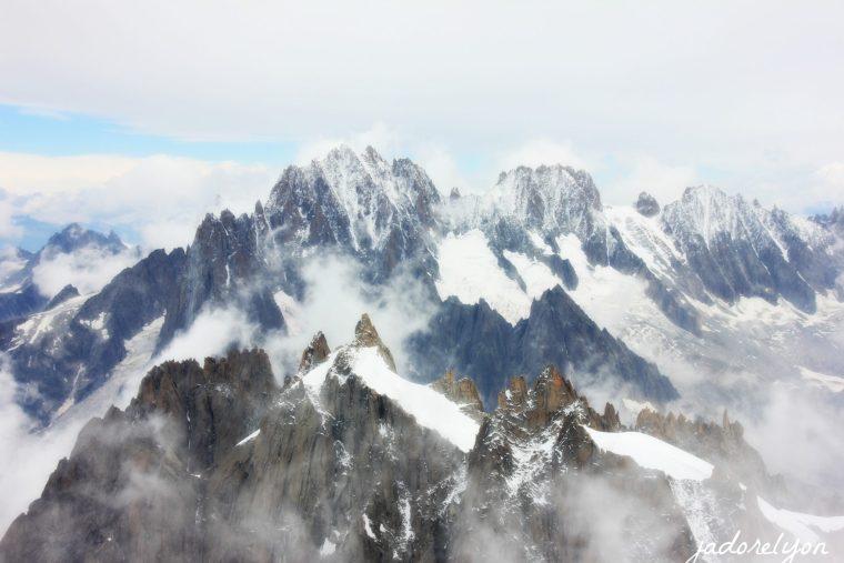 the famous Mont Blanc