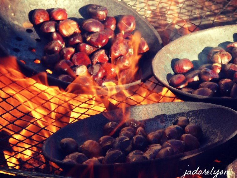 Only in France, only in Lyon the best french experience of eating roasted chestnuts. It cannot be missed out in autumn.