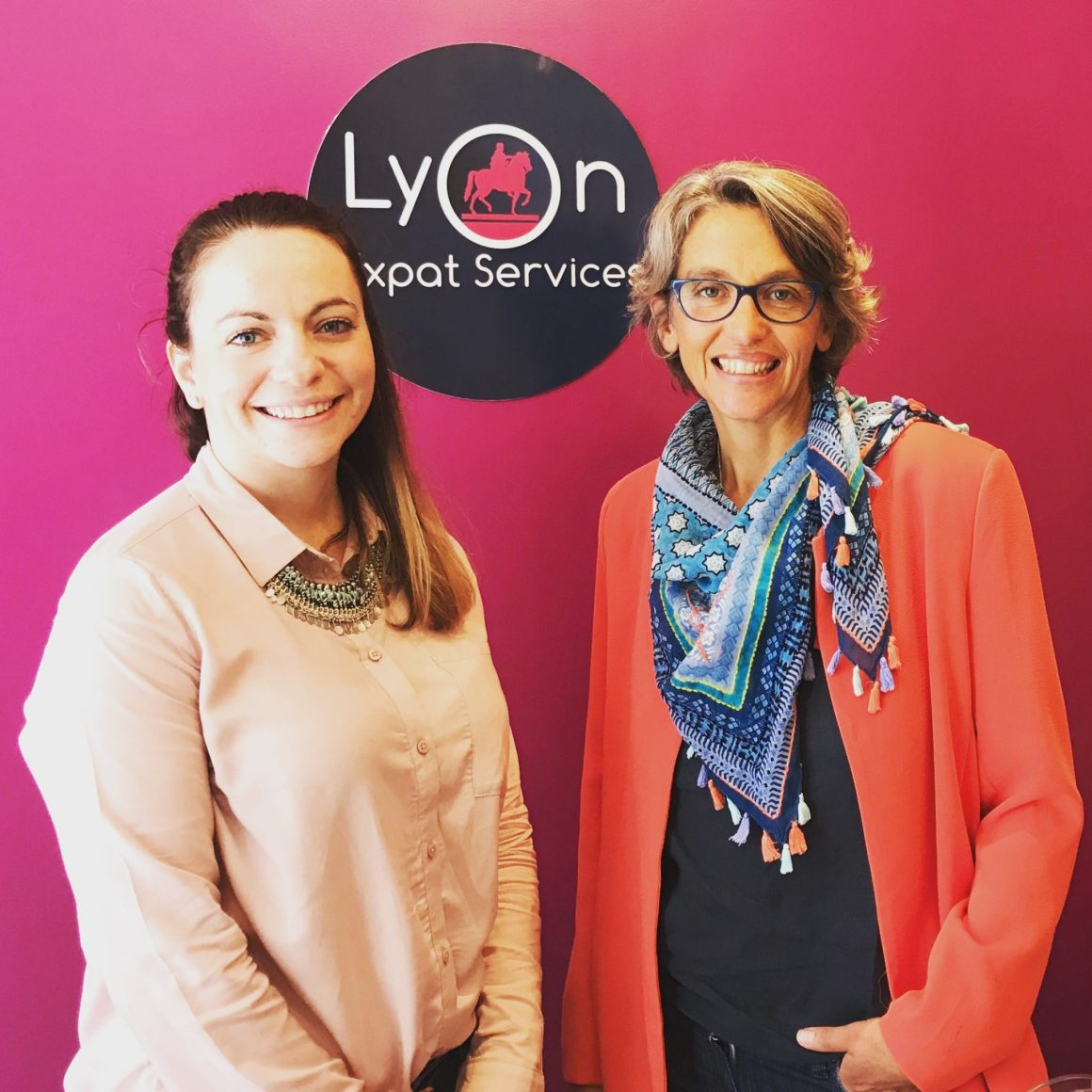 Sophie and Lindsey - The Lyon Expat Services Team