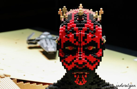 Darth Maul at MiniWorld in Lyon - Lego Expo