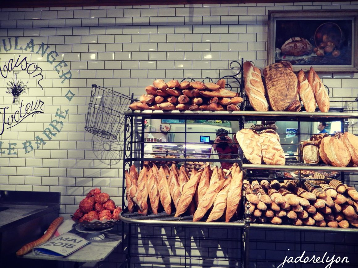 Ile Barbe bakery - the best in Lyon!