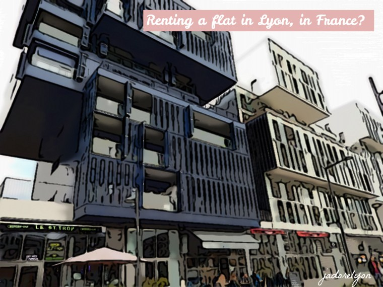 Renting a flat in Lyon, in France_