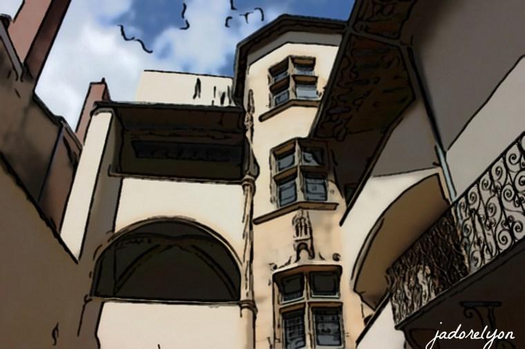 8. Vieux Lyon -traboules