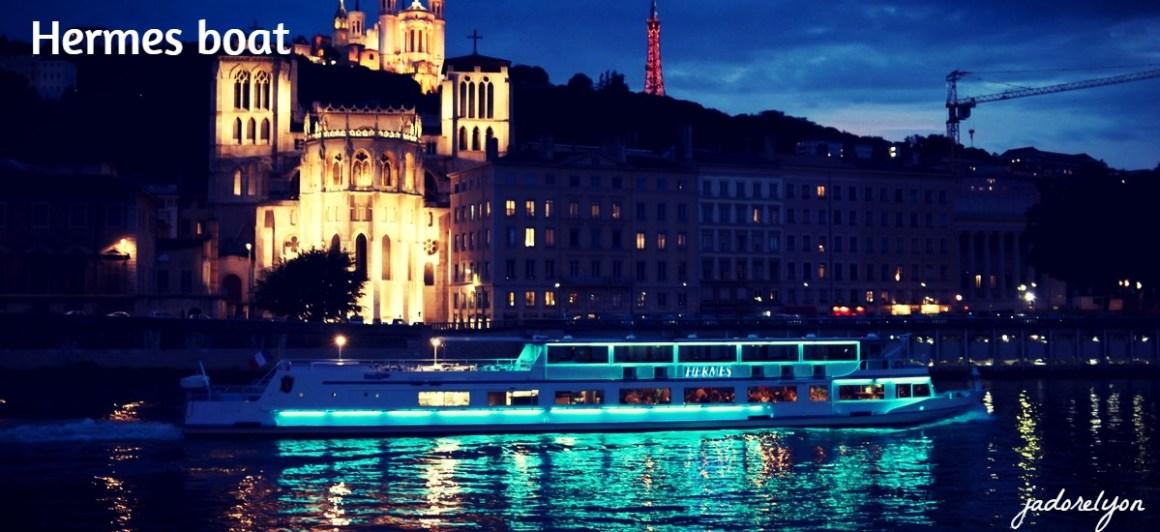 Hermes boat dinner Lyon