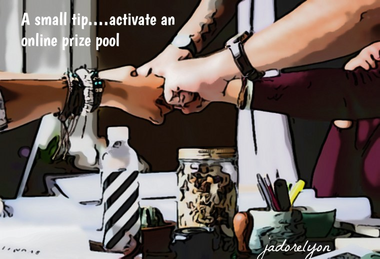 A small tip.… if some products are very expensive, you can activate an online prize pool