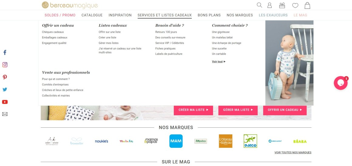 berceau magique _ Cadeaux bébé, puériculture et liste de naissance_ - www.berceaumagique.com
