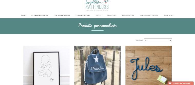 Produits personnalisés - Les Petits Raffineurs - www.lespetitsraffineurs.com