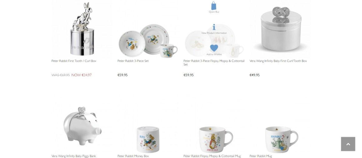 Gifts for Babies - Peter Rabbit Christening Gifts & 1st Years - Wedgw