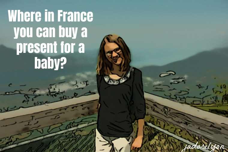 Where in France you can buy a present for a baby_