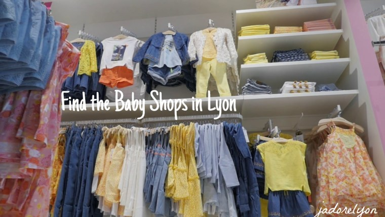 Find the Baby shops in Lyon