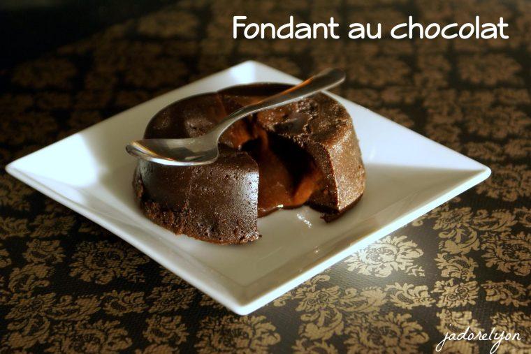Fondant au chocolate
