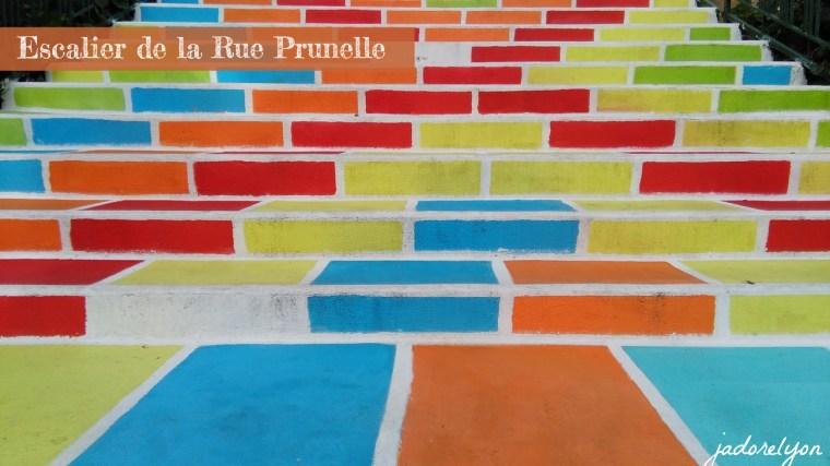 Escalier de la Rue Prunelle