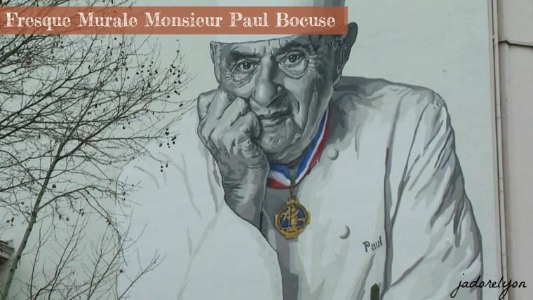 Fresque Murale Monsieur Paul Bocuse