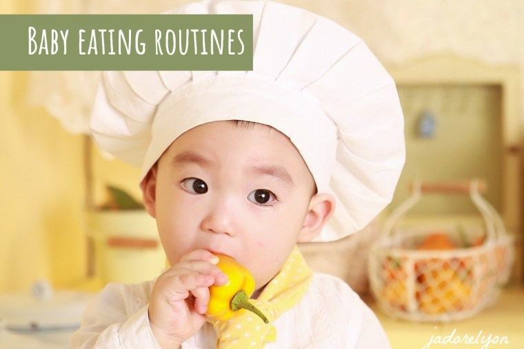 Baby eating routines in France