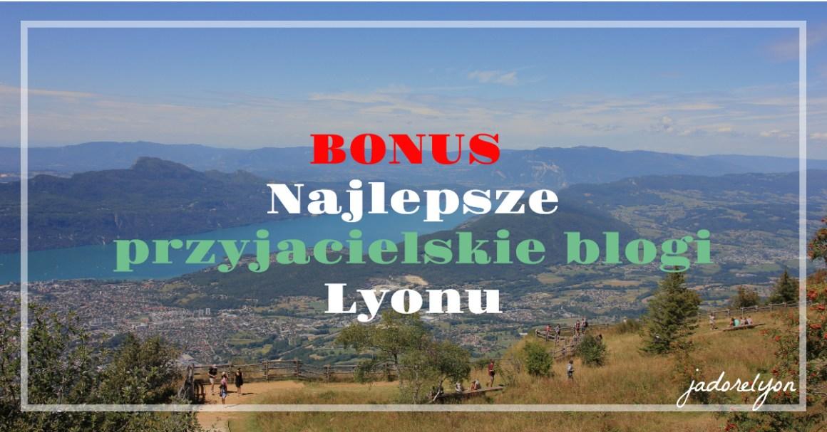 BONUS Najlepsze przyjacielskie blogi Lyonu OK