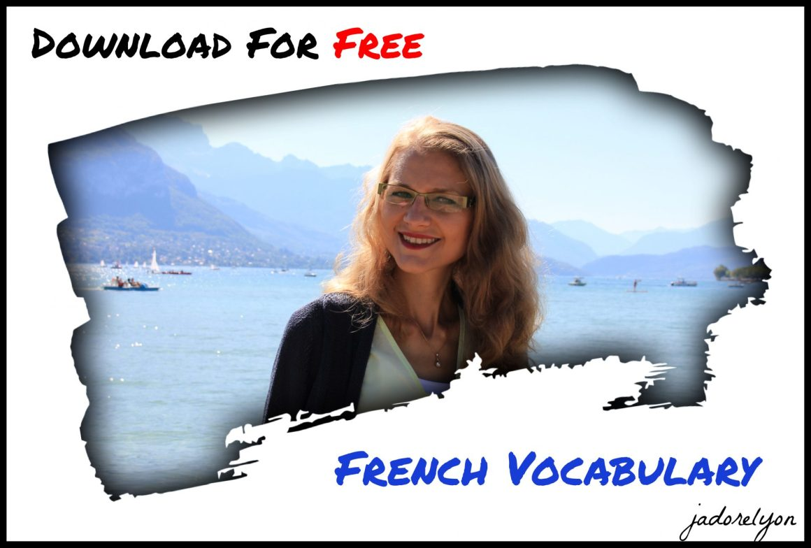 Download for free french vocabulary
