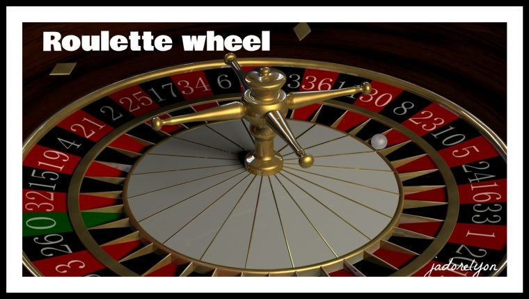 The Roulette wheel.