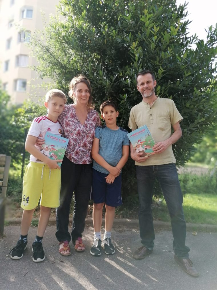 Let me introduce you to Aleksandra and Stéphane and their boys