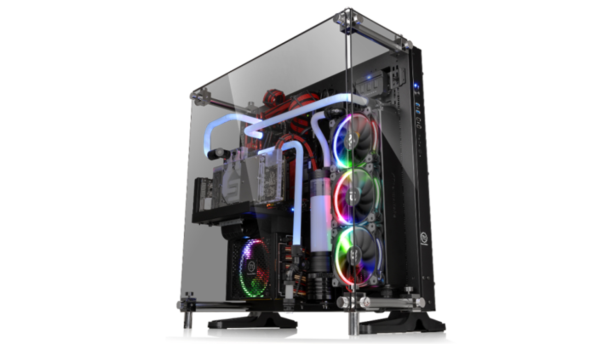 Thermaltake Unveils Newest Core P5 Tempered Glass Edition Atx Wall P90 Mount Chassis Series Jadorendr
