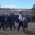 У помен свим страдалим вијенац је положила делегација Општине Козарска Дубица.