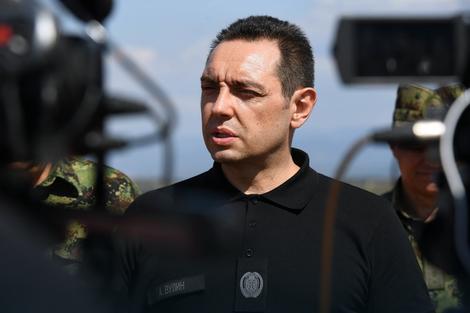 Александар Вулин Фото: Министарство одбране / Промо