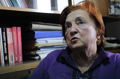 Радмила Јовић је била беба у Јасеновцу Фото: Д. Миленковић / РАС Србија