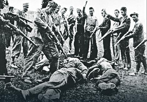 Заробљенике су тукли маљевима и чекићима Фото: Memorijalni muzej Jasenovac / United States Holocaust Memorial Museum
