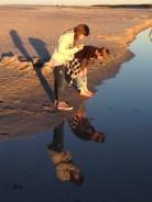 Reflections at Crane Beach, Ipswich MA