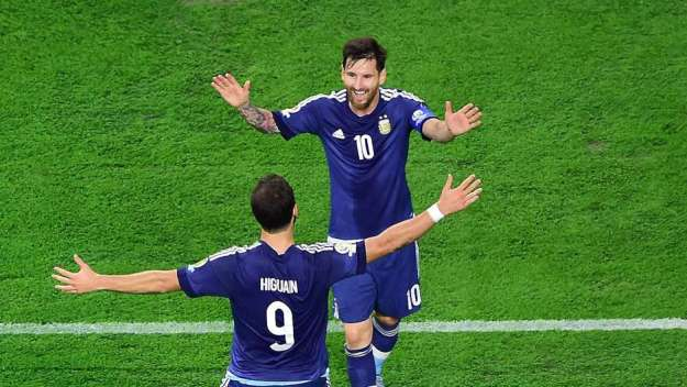 Messi Berharap Higuain Ikut Membela Argentina Di Piala Dunia 2018