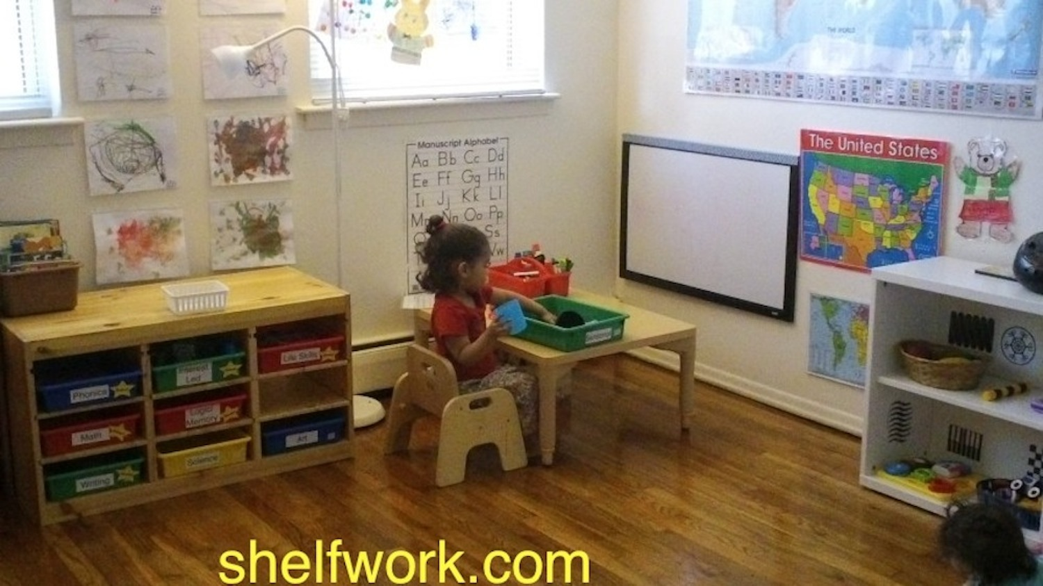 Toddler Homeschool Room Tour Jady A