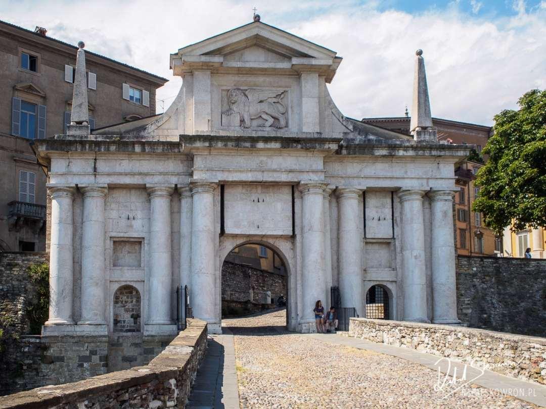 Brama Wenecka w Bergamo