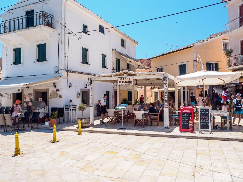 Urokliwe miasteczko Gaios