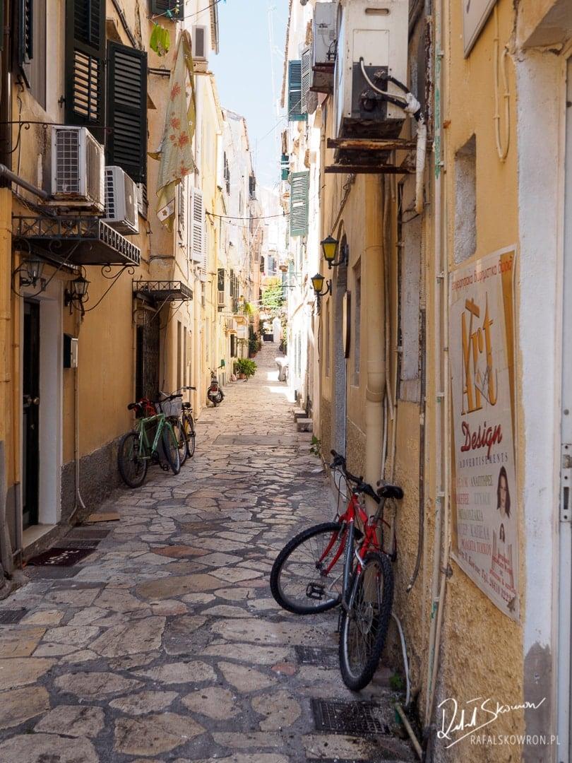 Korfu Town - zakamarki