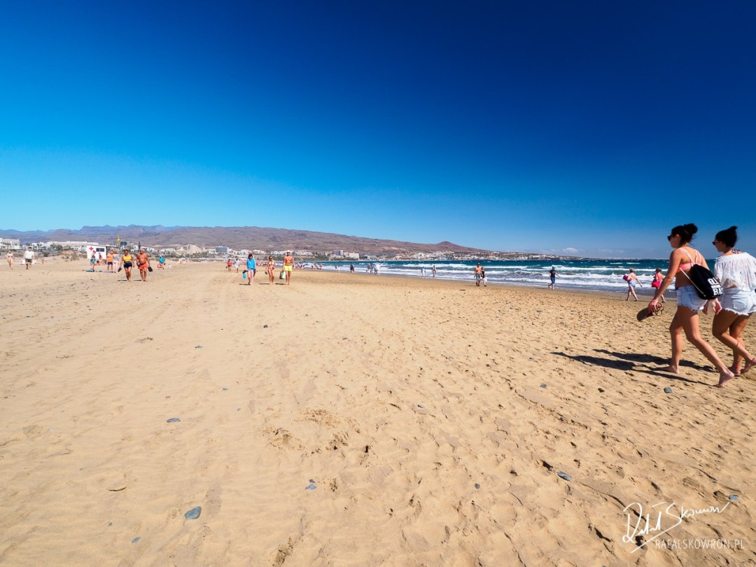 plaża w Maspalomas
