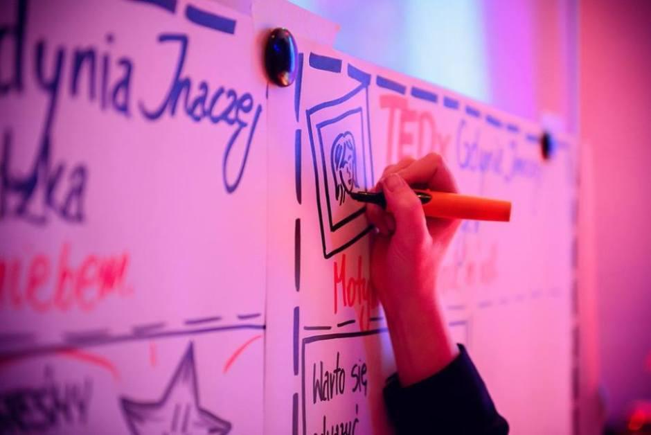 Jadźka Rysuje na TEDxGdynia