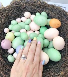 mani monday easter eggs 1