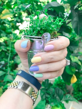 mani monday easter eggs fitbit