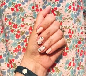 jcrew chanel nail art floral 1